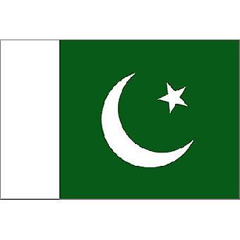 Pakistan flagg 5 ft x 3 ft med Jer.