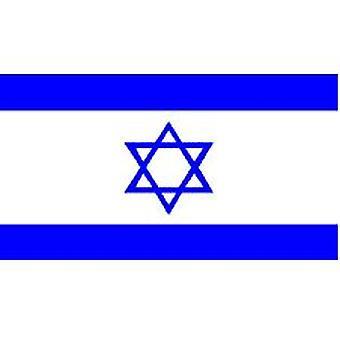 Israels Flag 5 ft x 3 ft med øjer til ophæng