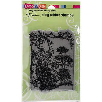 Stampendous Cling Stamp 5.25