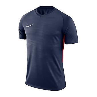 Nike seco Tiempo Prem Jsy SS 894230410 todos los hombres del año de entrenamiento t-shirt
