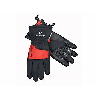 Extremities Windy Pro Glove Black/Red (Size Small)