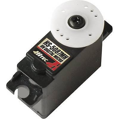 Servo de Hitec Mini servo Digital HS-5087MH matériel boîte de vitesse  système d'attaches de métal  JR