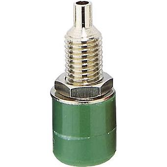 BKL Electronic 072309 Jack socket Socket, vertical vertical Pin diameter: 4 mm Green 1 pc(s)