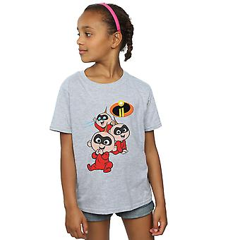 Disney Girls The Incredibles Jak Jak T-Shirt