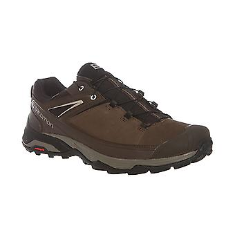 Salomon X Ultra 3 LTR Gore-Tex leather hiking shoes Brown
