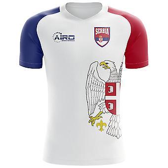 2018-2019 Serbia Flag Concept Football Shirt