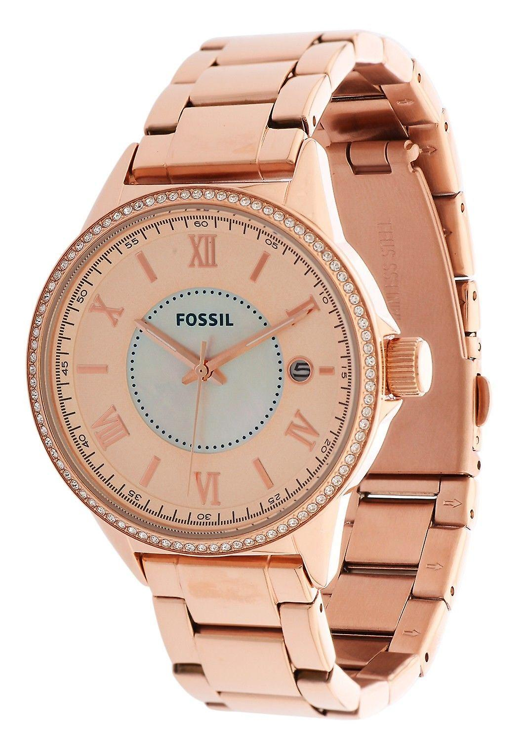 Fossiles montre Or Rose BQ1108