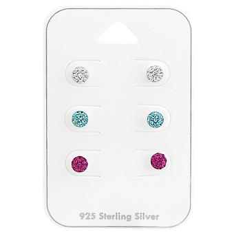 Runde - 925 Sterling Silber Sets - W38083x