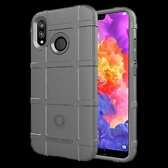 For Huawei kompis 20 Lite skjold serien utendørs grå bag coveret beskyttelse nye