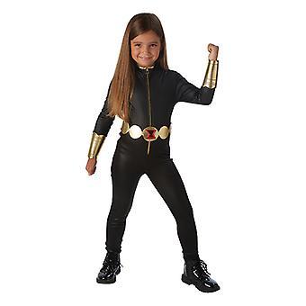 Black widow Avengers assemble Deluxe costume for children