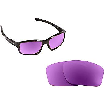 c5d84618a2a CHAINLINK Replacement Lenses Polarized Purple by SEEK fits OAKLEY Sunglasses