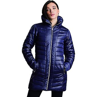 Dare 2b Womens Longline Water Repellent Quilted Coat