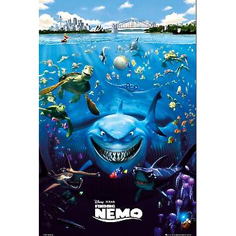 Finding Nemo Poster all characters