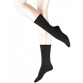 Falke laine Cosy Chaussettes - noir