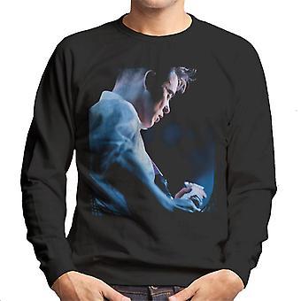Bernard Sumner Of New Order Guitar Side Shot Men's Sweatshirt