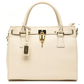 Trussardi simple ladies of tote bags cream