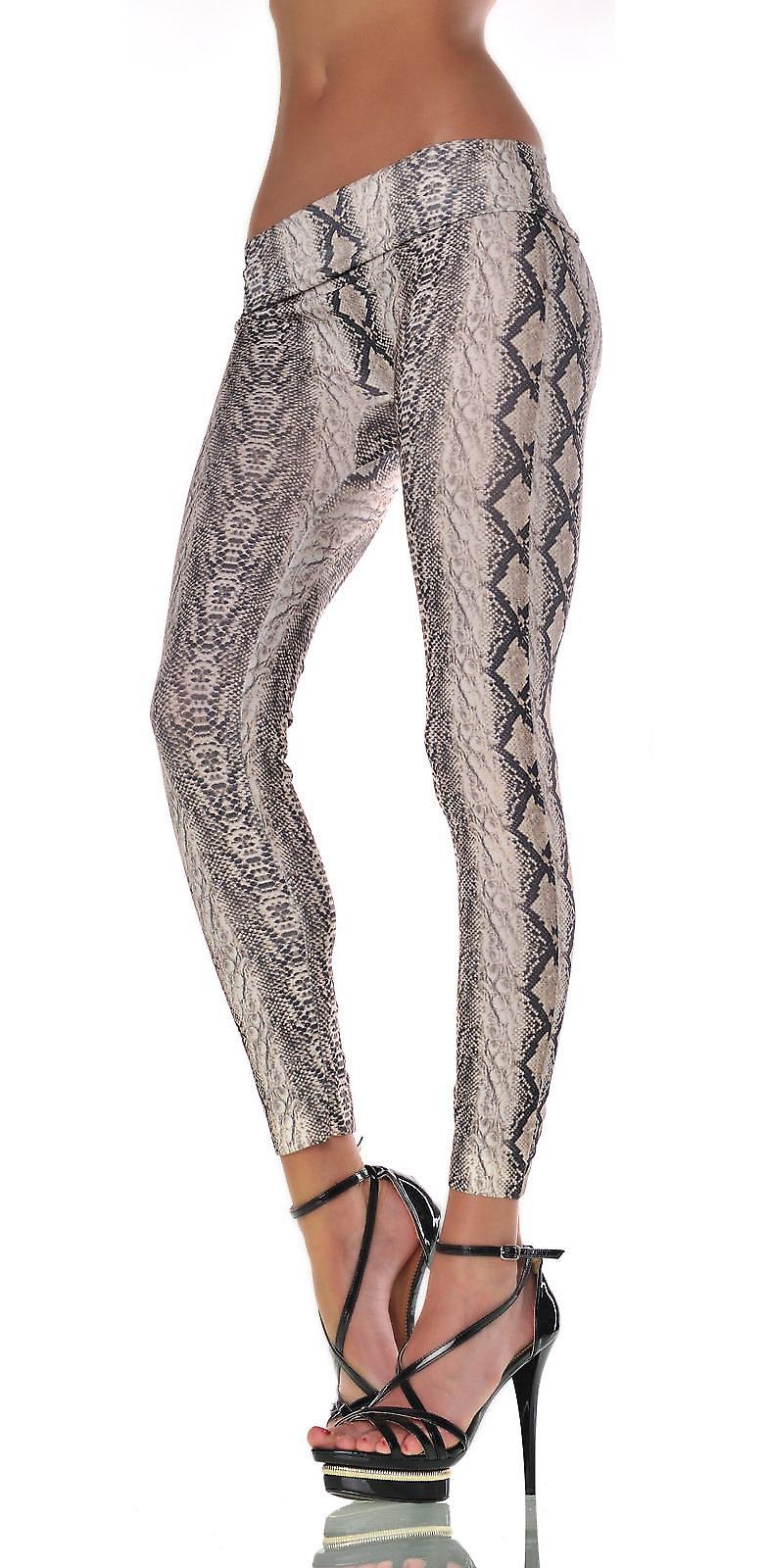 Waooh - Fashion - Leggins gedruckten Schlange