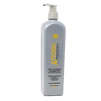 Angel Paris Professional Pearl Glossing Shampoo, White, Grey or Blonde Hair, 16.6 oz