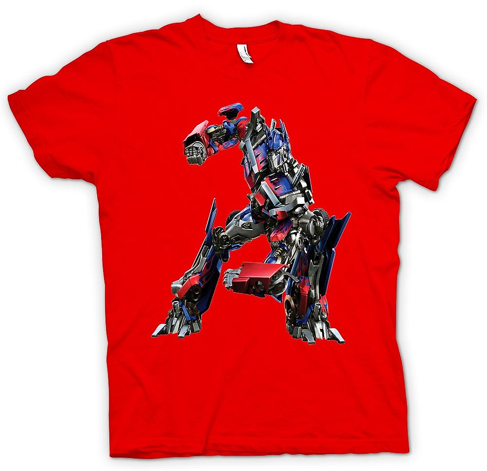 Mens t-shirt - Optimus Prime - trasformatori