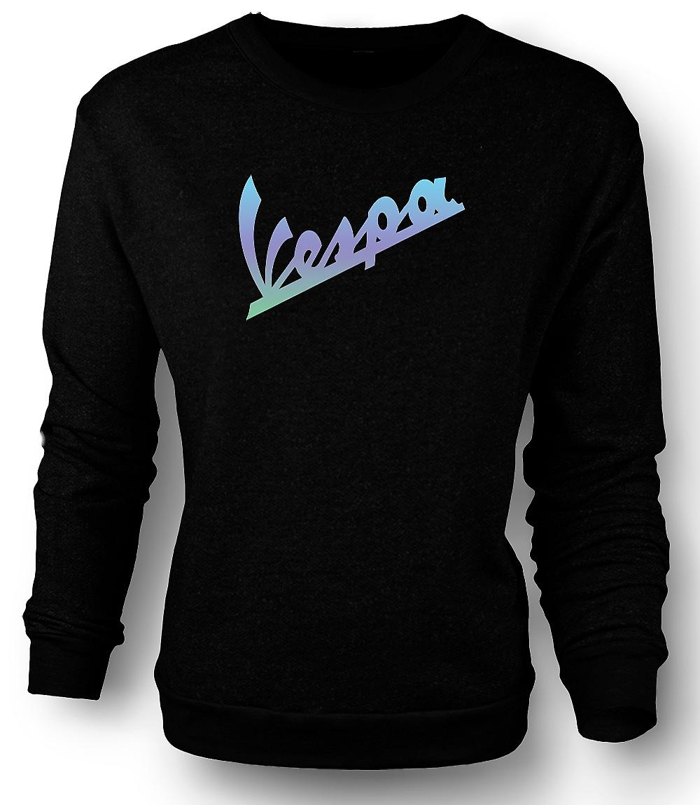Mens Sweatshirt Vespa Slogan - Cool Scooter