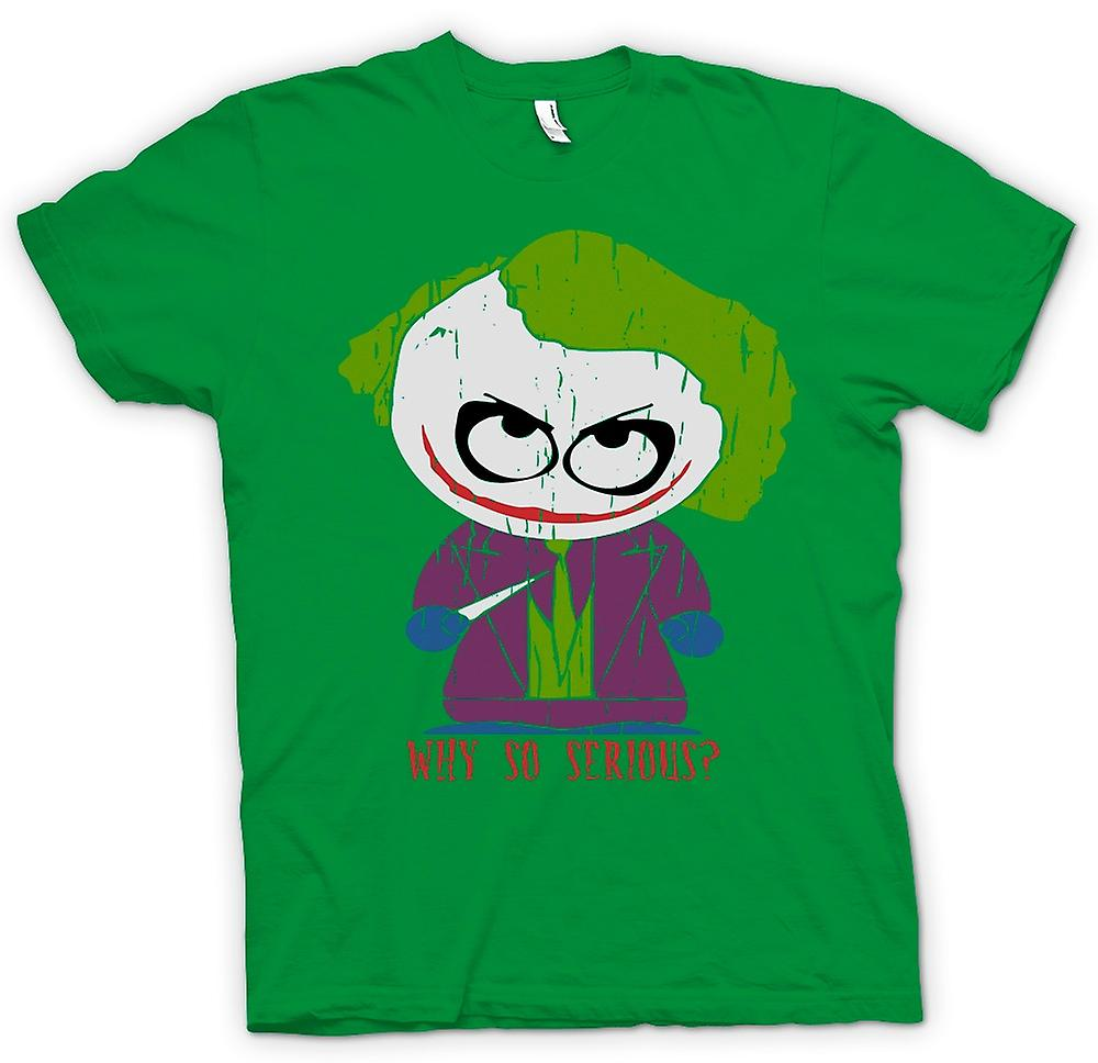 Herren T-Shirt - Cute Joker - Warum so ernst