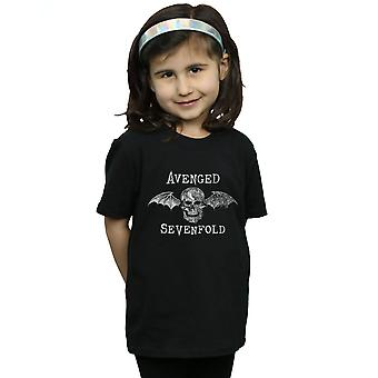 Avenged Sevenfold Girls Cyborg Deathbat T-Shirt