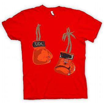 Womens T-shirt - Hanging Boxing Gloves - Cool