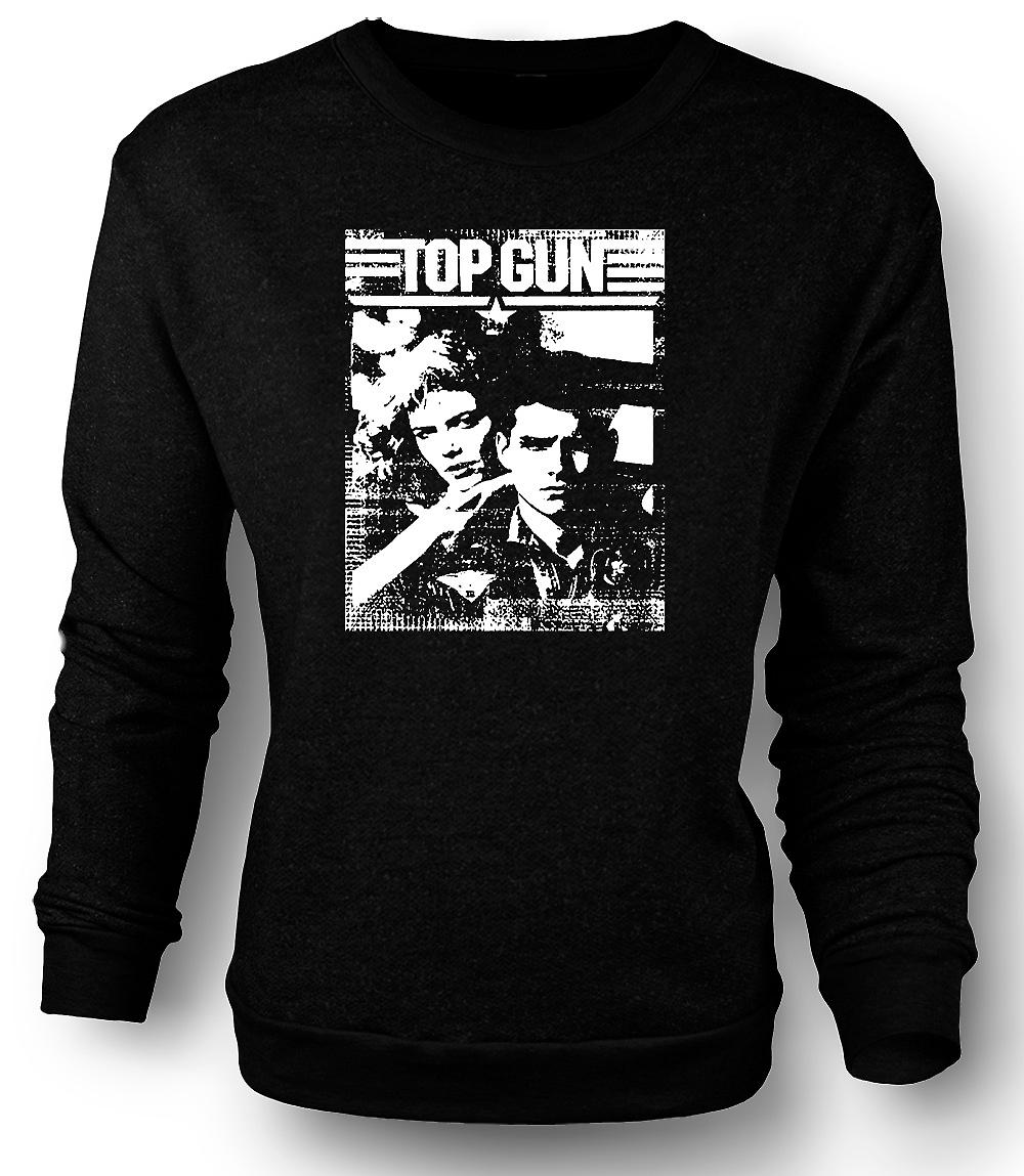 Mens tröja Top Gun Maverick - Pop Art - film