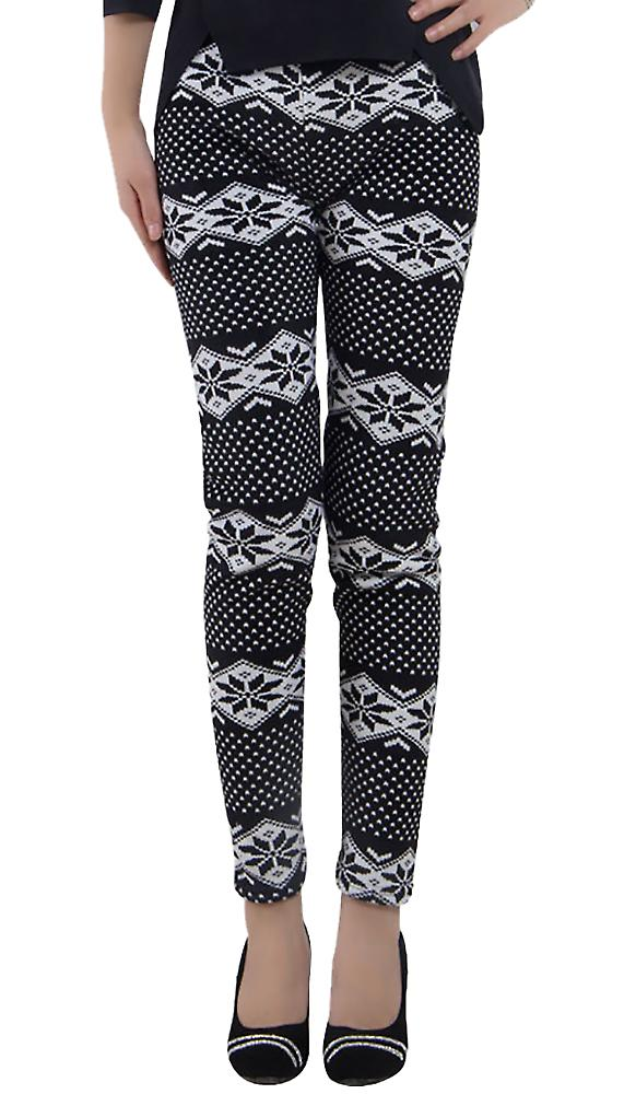 Waooh - Winter Legging pattern snowflakes Niga