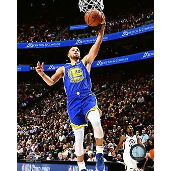 Stephen Curry 2018-19 Action Photo imprimable