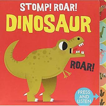 Sounds of the Wild: Stomp Roar! Dinosaur [Board book]