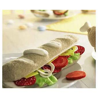 HABA Play Food Baguette  Fabric  Wooden Toy