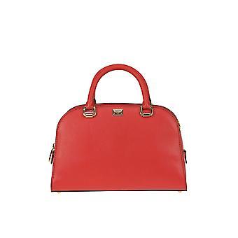 Dolce E Gabbana Isabella Red Leather Handbag