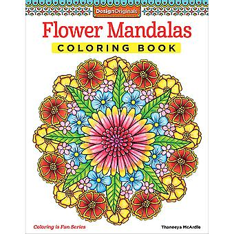 Design Originals-Flower Mandalas Coloring Book