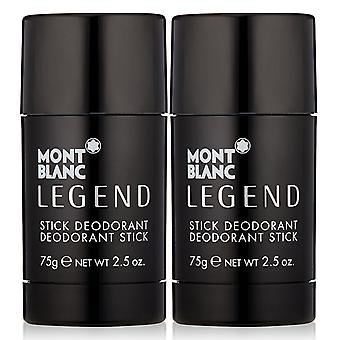 2-pack Mont Blanc Legend Deo stick 75 g