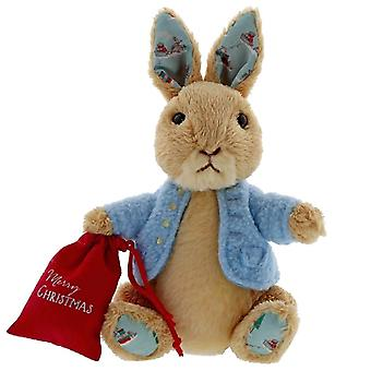 Peter Rabbit Christmas Small Plush Toy - 16cm