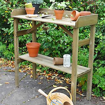 Forest Garden Wooden Potting Table