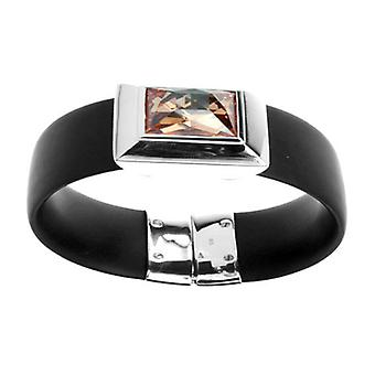 Belle Etoile Rebel Black Bangle 04051010601-M