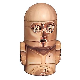 Star Wars C-3PO Head Shape Tin Money Box