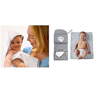 Shnuggle Bundle-Bumgo endre wrap og hette wrap håndkle-2 elementer levert