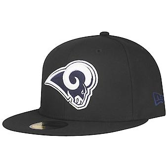 New Era 59Fifty Fitted Cap - NFL Los Angeles Rams schwarz