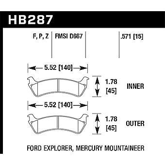 Hawk Performance HB287F.571 HPS