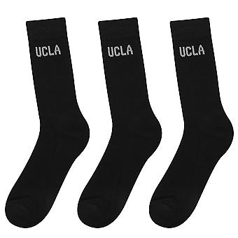 UCLA Unisex 3 pack atletische training Sportsokken