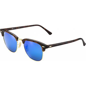 Ray-Ban Clubmaster Flash Scale/Golden Blue Miroité