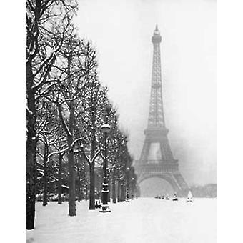 Poster - Studio B - Paris in Snow 16