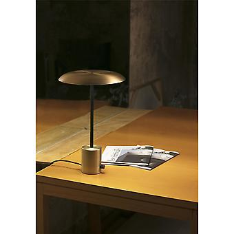 Faro - Hoshi guld och svart LED bord lampa FARO28387