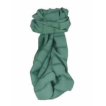 Mens Vietnamese Long Silk Scarf Hue Fern by Pashmina & Silk