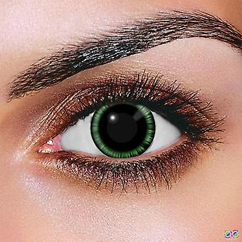 Green Manga Contact Lenses (Pair)
