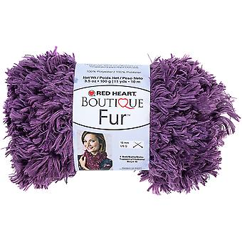 Red Heart Boutique Fur Yarn-Eggplant E831-9554