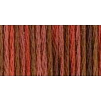 Dmc Color Variations Pearl Cotton Size 5  27 Yards Terra Cotta 415 5 4135